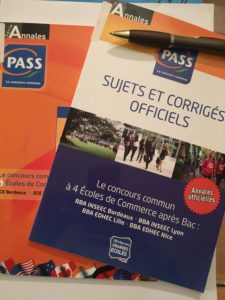 Annales concours PASS