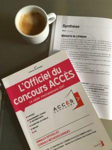 ANNALES CONCOURS ACCES